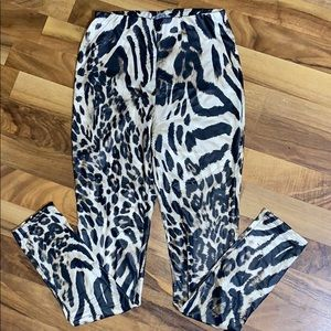 NWOT Animal Print Leggings